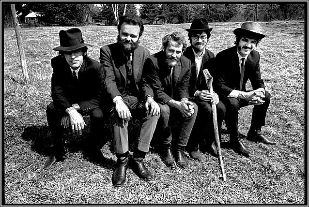 The Band, Rick Danko, Levon Helm, Robbie Robertson, Richard Manuel