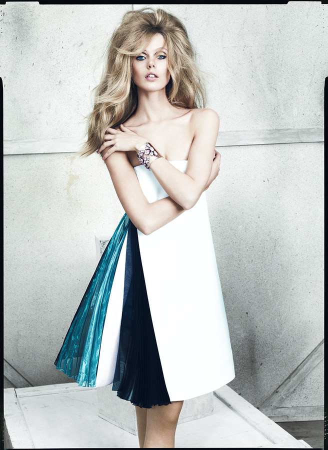 Frida Gustavsson by Norman Jean Roy for Allure January 2013