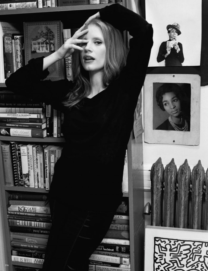 Jessica Chastain by Bruce Weber